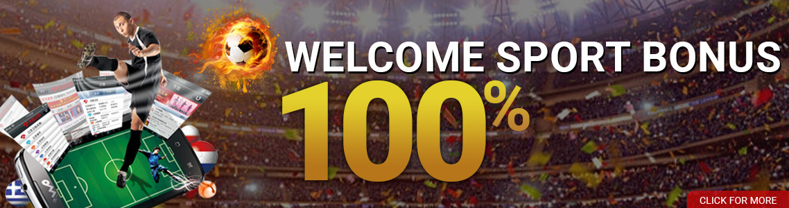 WELCOME SPORT BONUS 100%
