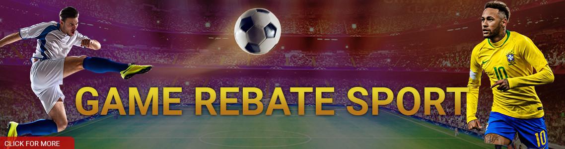 GAME REBATE SPORT