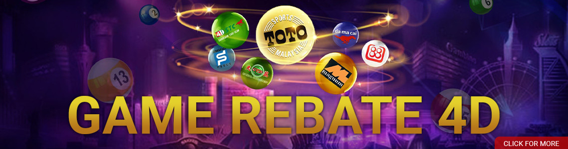 GAME REBATE 4D