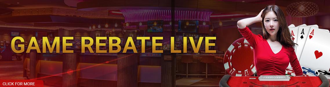 GAME REBATE LIVE