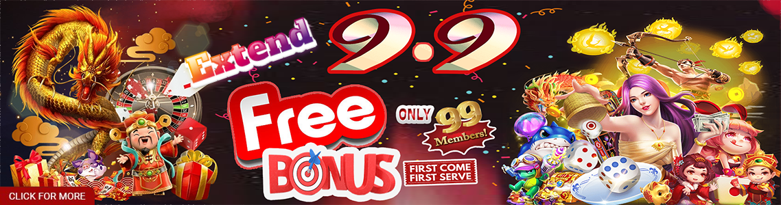 9.9 Limited New Member Free Credit Bonus Extend