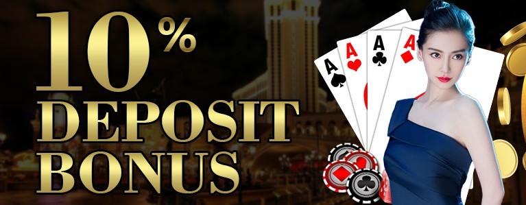 10% Deposit Bonus