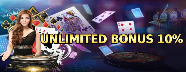 unlimited bonus 10%
