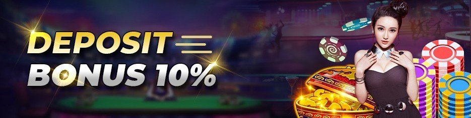 Daily Deposit Bonus 10%